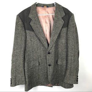Pendleton 42 Wool Knit Button Blazer Jacket Coat